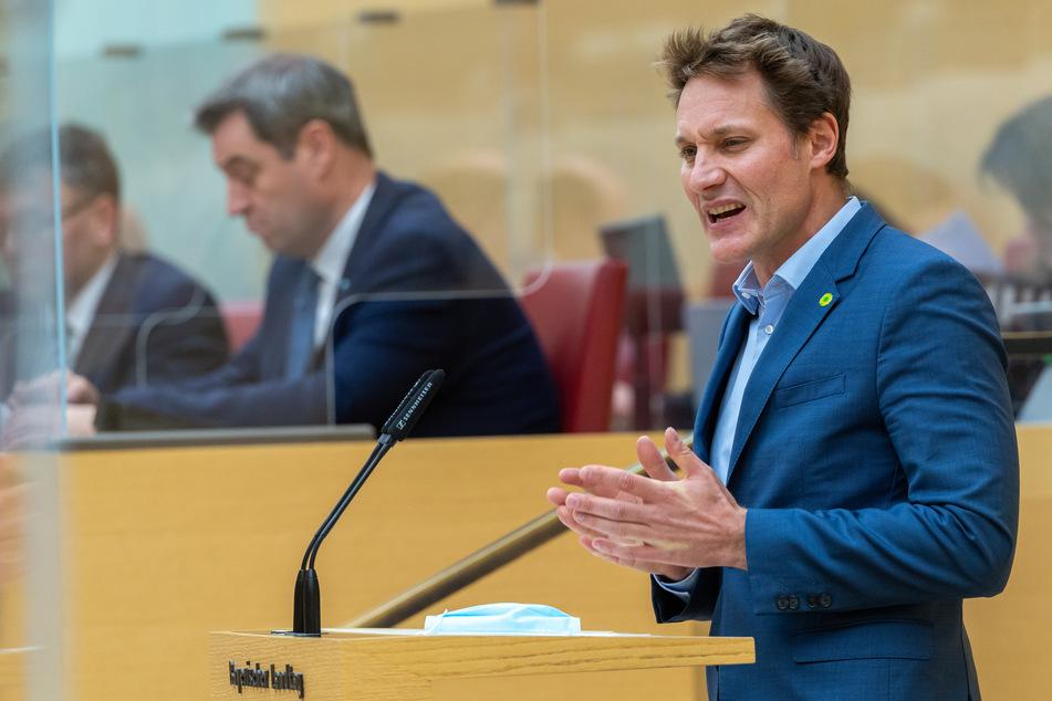 Grünen-Fraktionschef Ludwig Hartmann (42) ist nicht zufrieden.