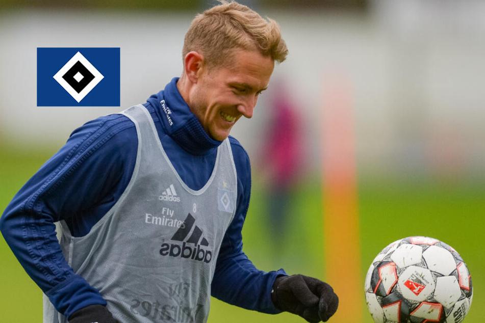 Nach Abgang: Ex-HSV-Star Holtby trainiert jetzt bei diesem Verein!