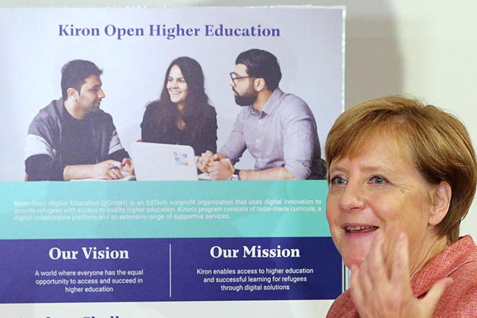 Die Bildungsplattform informiert Geflüchtete über den Zugang zur Hochschulbildung.
