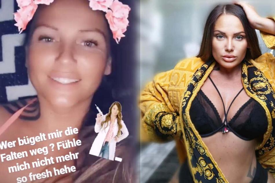 Die Montage zeigt zwei Screenshots aus dem Instagram-Profil von Schwesta Ewa.