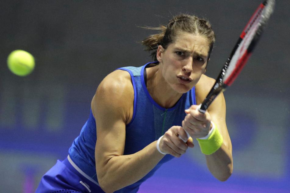 Andrea Petkovic zeigte sich schockiert von dem Hymnen-Eklat.