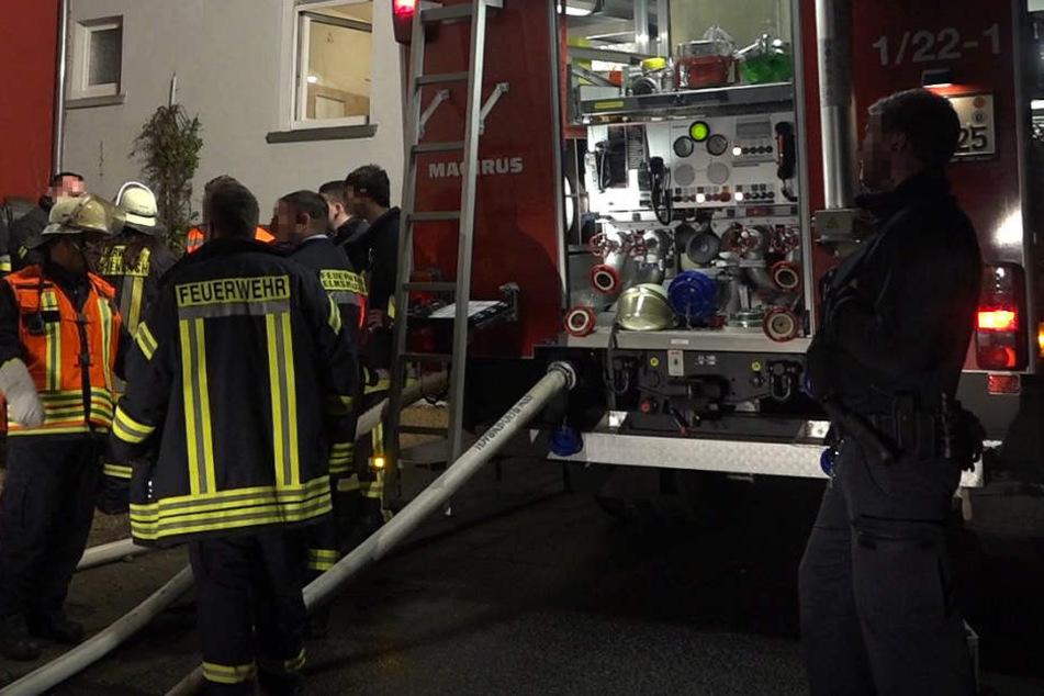 Der Brand in Lautertal konnte schnell unter Kontrolle gebracht und gelöscht werden.