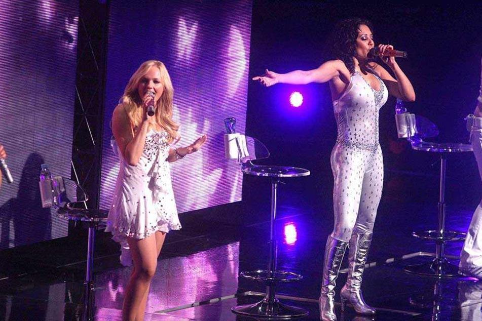 Mel B. (re) und Ginger Spice bei einem Konzert 2008 im Madison Square Garden.