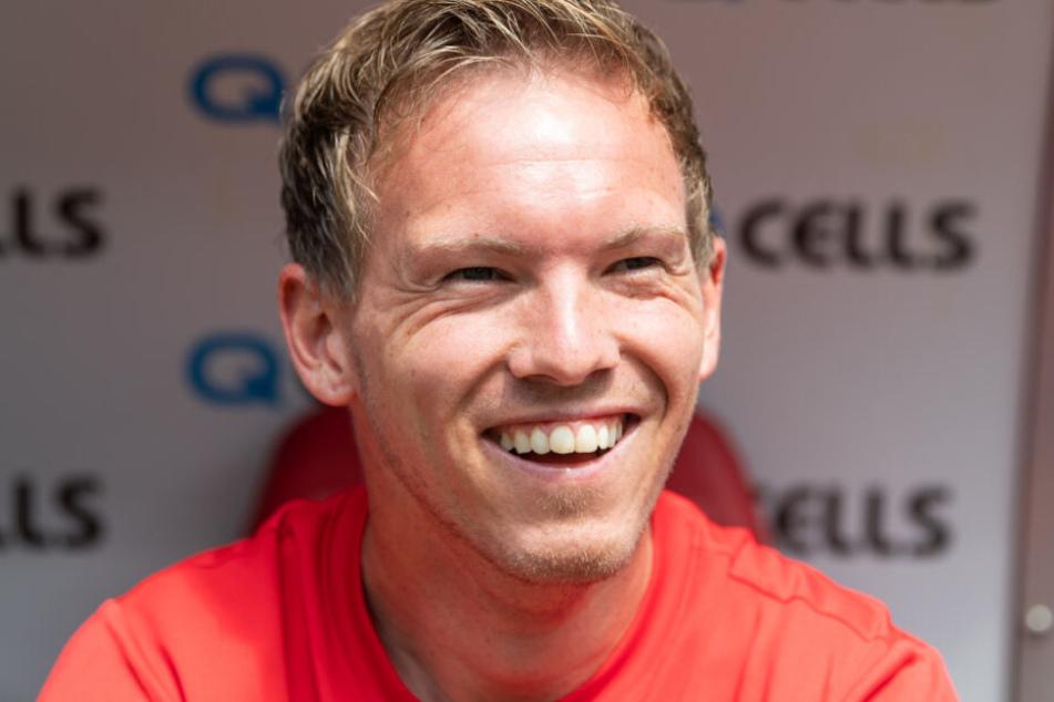 """""""Der Pflichtspielstart mit einem neuen Club ist immer etwas Besonderes"""", freut sich Julian Nagelsmann auf das Match."""