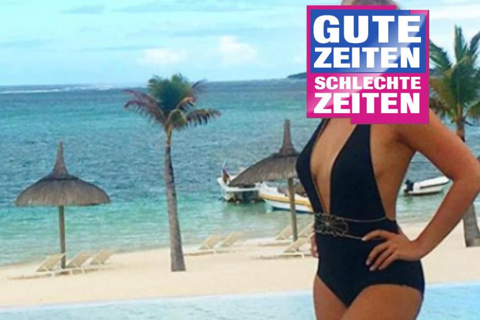 Sexy Urlaubsgrüße: Welcher GZSZ-Star zeigt hier seinen Traumkörper?