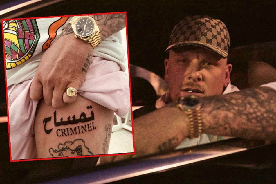 187er Bonez MC zeigt neues Tattoo, doch die Fans schockt etwas ganz anderes!