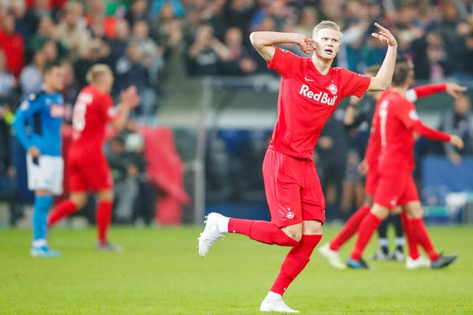 Erling Braut Haaland (19) trifft und trifft und trifft. Die europäischen Topvereine wollen ihn, aber bekommt ihn RB Leipzig?