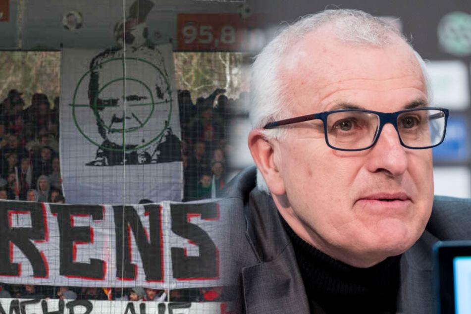 Hass-Plakate gegen Hopp: Anwalt bringt Stadionverbot ins Gespräch