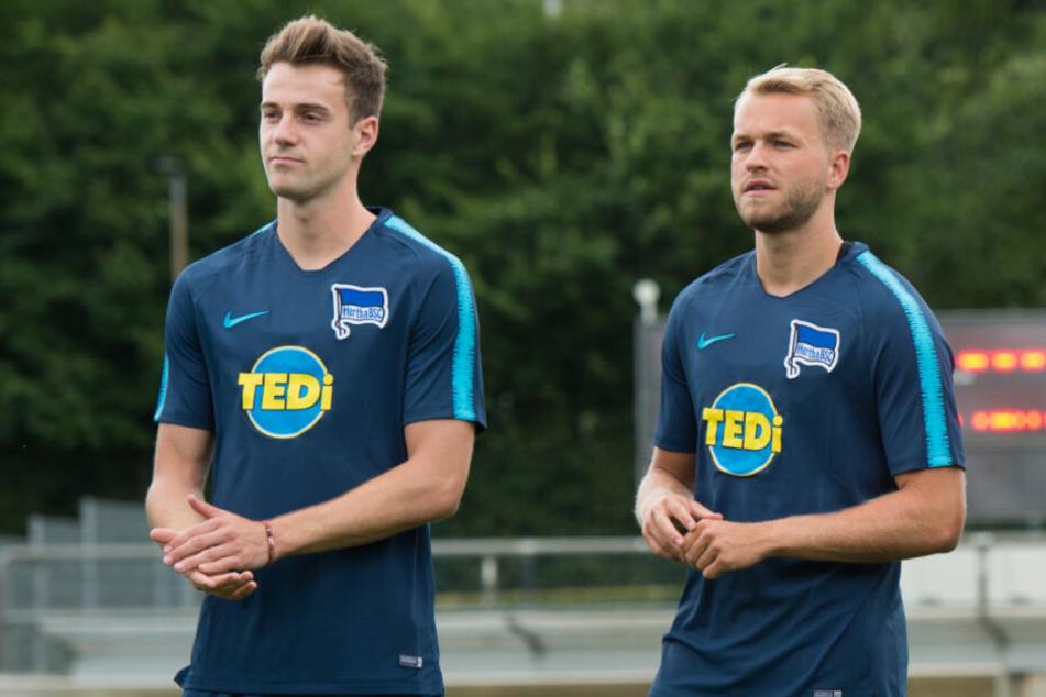 Neuzugänge blieben unter ihren Erwartungen: Lukas Klünter (l.) und Pascal Köpke (r.).