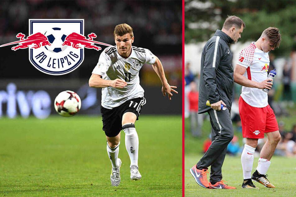 Verletzungs-Pech bei RB: Sabitzer und Werner fallen aus
