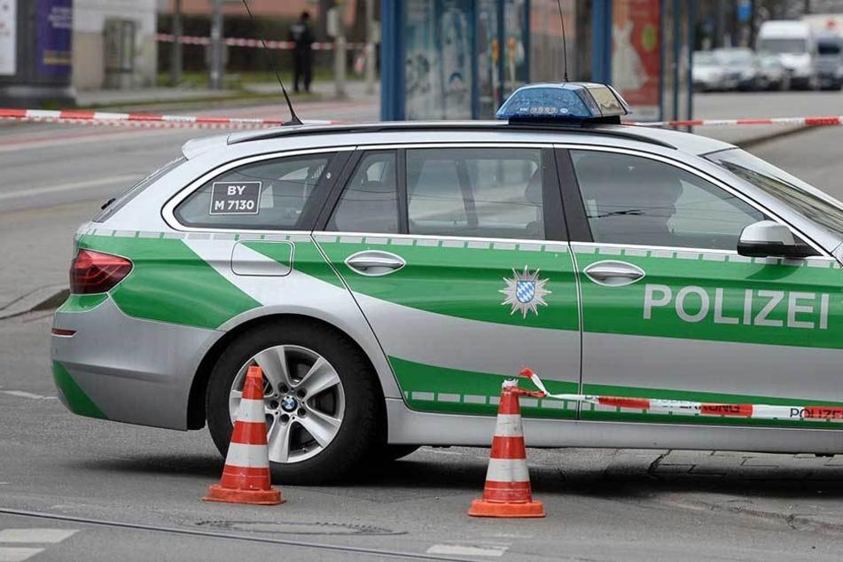 Der zu gedröhnte Opel-Fahrer knallte in ein Polizeiauto (Symbolbild).