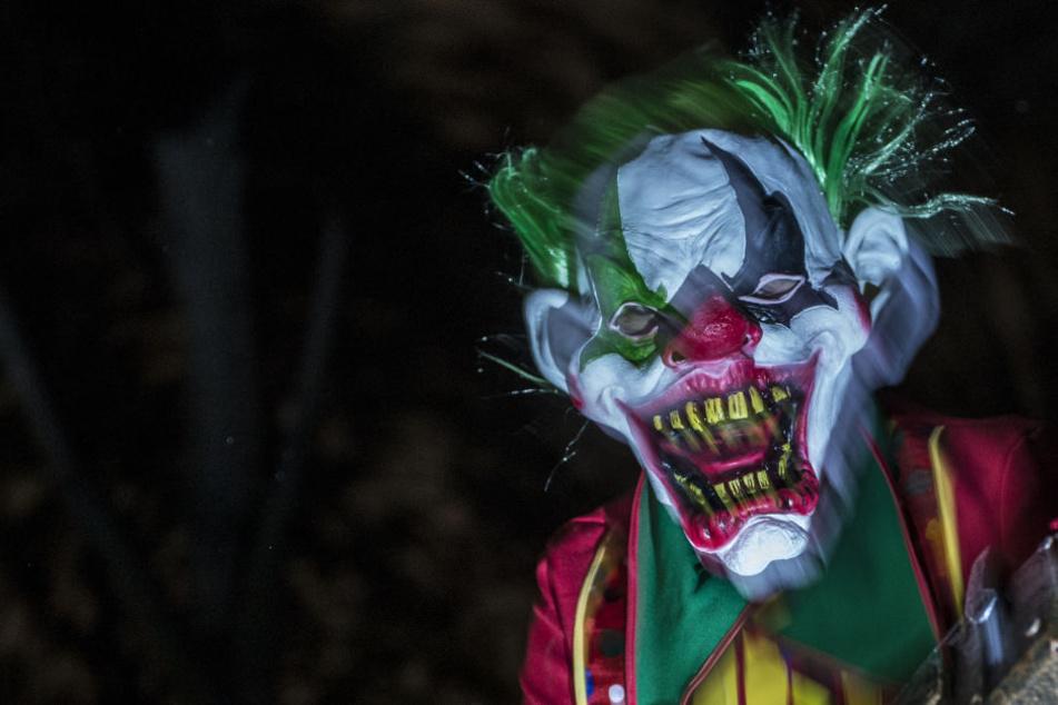 In Freiberg wurden mehrere Horror-Clowns gesichtet.