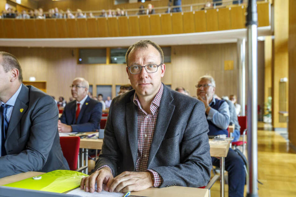 Will momentan nicht mit den Grünen feiern: FDP-Chef Holger Hase (43).
