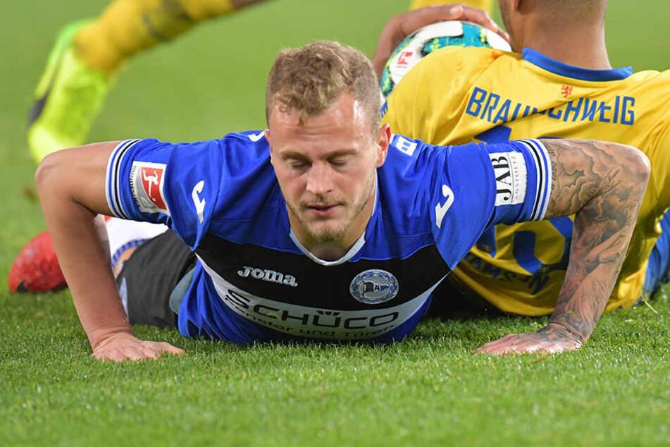 Christoph Hemlein (27) ist mit seiner sportlichen Situation im Club unzufrieden.