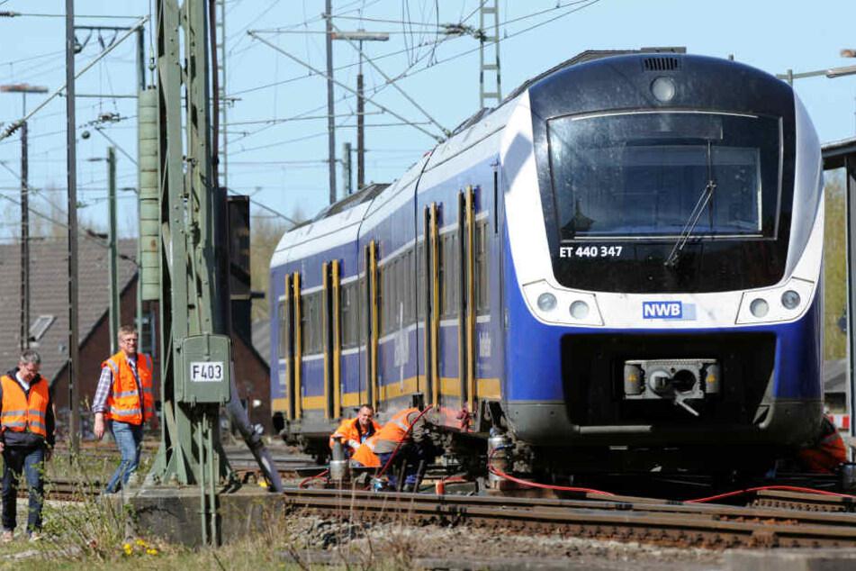 Ein Zug der Nordwestbahn. (Archivbild)
