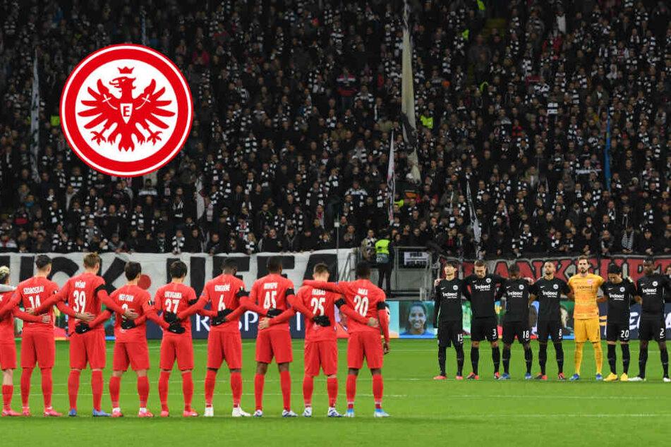 Zwischenrufe bei Schweigeminute für Hanau-Opfer: Eintracht-Fans reagieren prompt