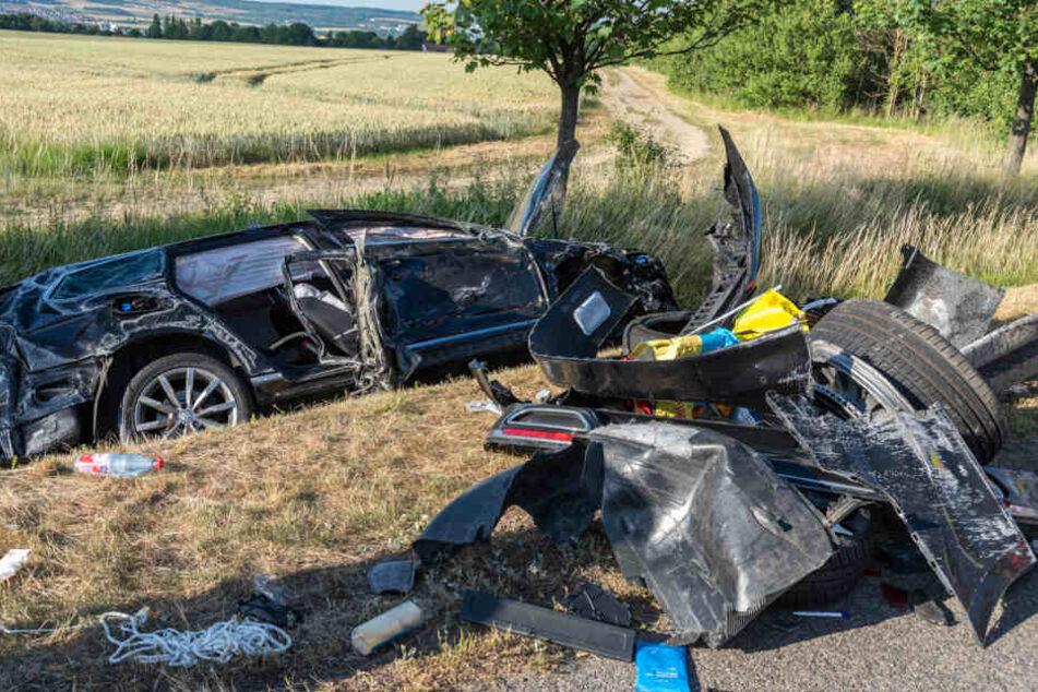 Horror-Unfall! Komplette Familie schwer verletzt in Klinik gebracht