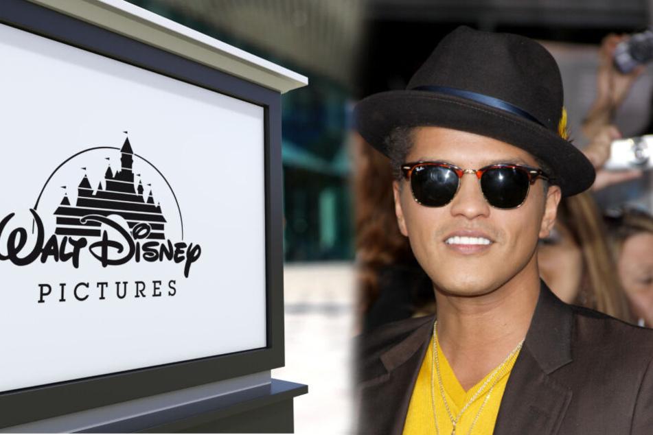 Bruno Mars (34) könnte bald in einem eigens produzierten Disney-Film zu sehen sein.