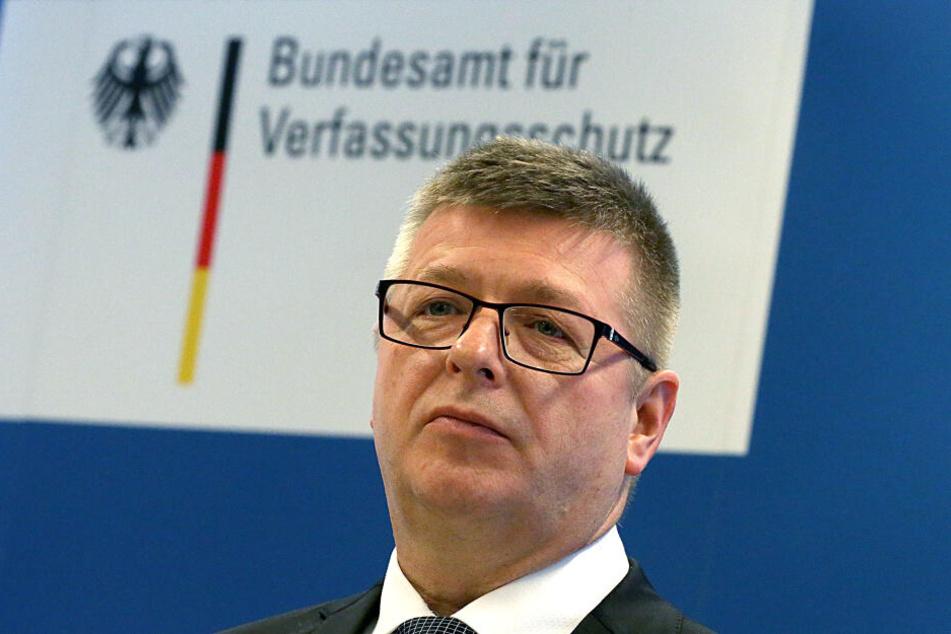 Thomas Haldenwang hatte die Aussage in einem Interview getroffen.