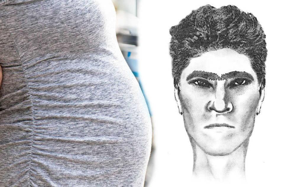 Die Polizei sucht jetzt nach einem Mann, der eine Schwangere zu Boden gestoßen haben soll.