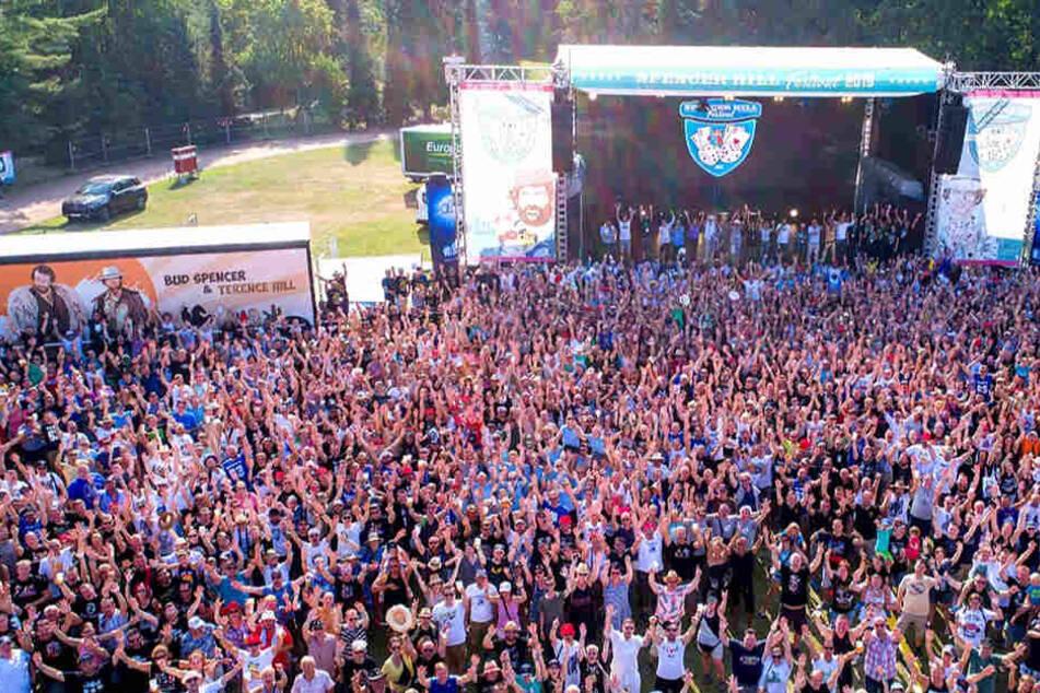 Tausende Fans waren in diesem Jahr beim Spencerhill-Festival in Lommatzsch dabei.