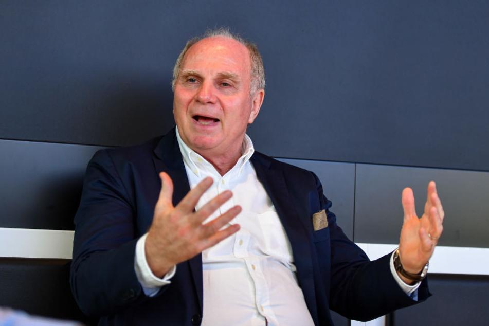 Uli Hoeneß (66) im Gespräch mit TAG24.