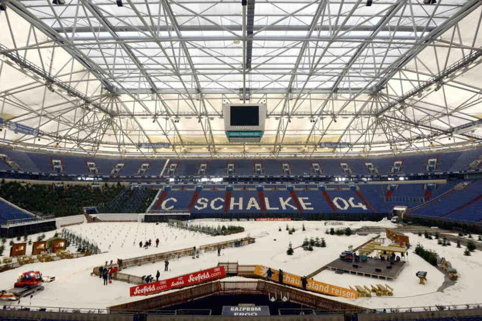 Die Arena auf Schalke.