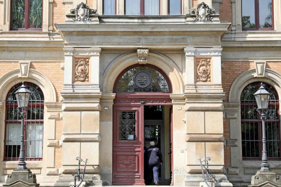 Das Amtsgericht Zwickau. (Archivbild)
