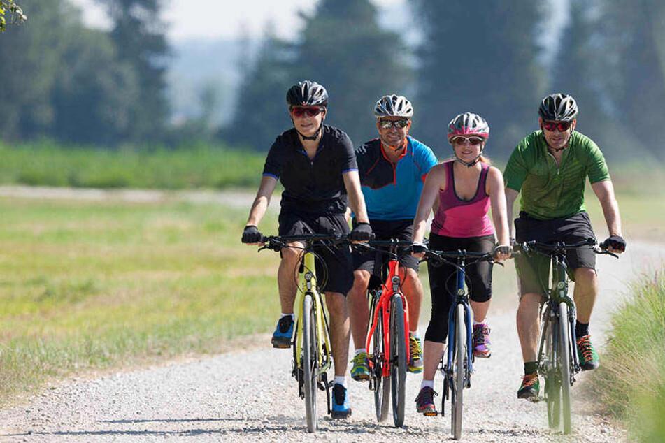 Für Radfahrer soll es demnächst eine Brücke über den Dreiländerpunkt geben.