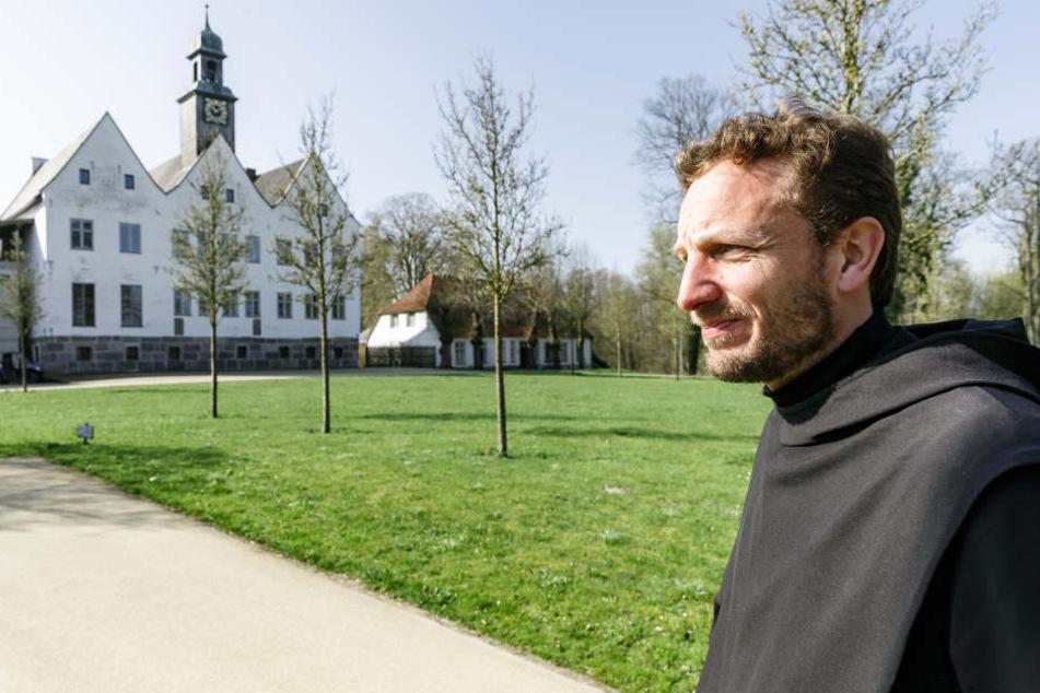 Der Kloster in Nütschau (Schleswig-Holstein) öffnet seine Räume für interessierte Besucher.