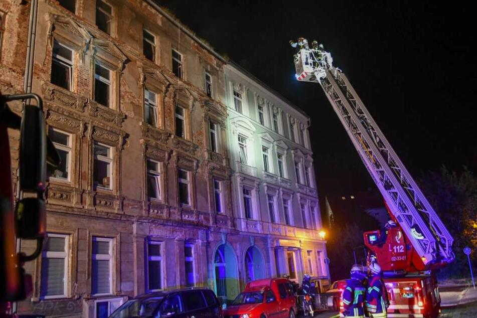 Glimpflicher Ausgang eines Wohnungsbrandes in Magdeburg.