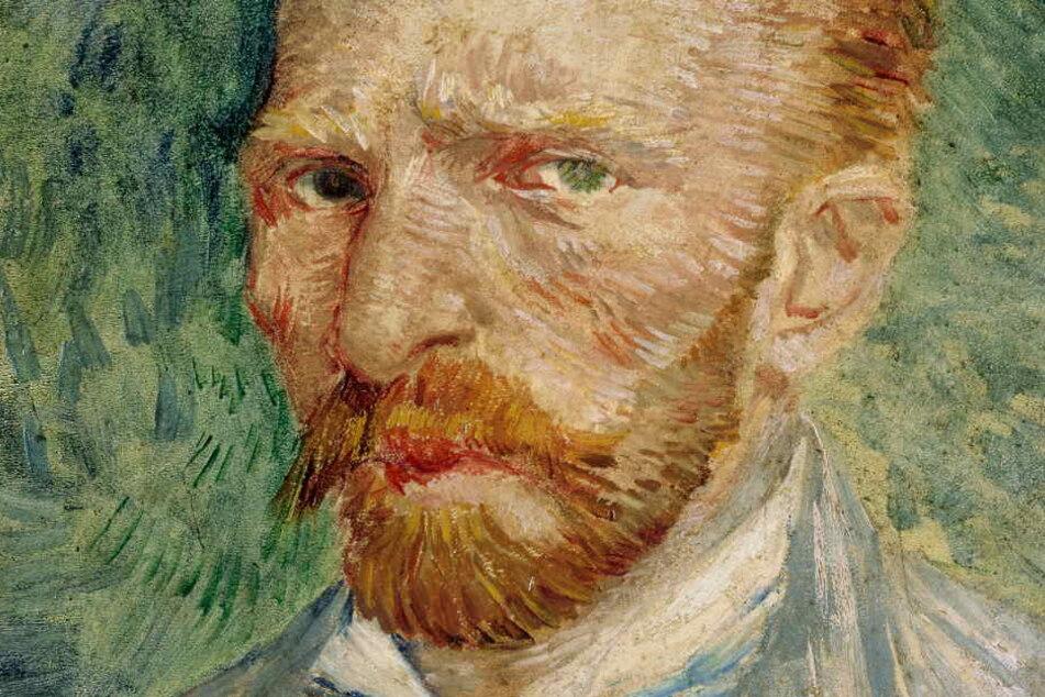 Das Bild zeigt ein Selbstporträt von Vincent van Gogh.