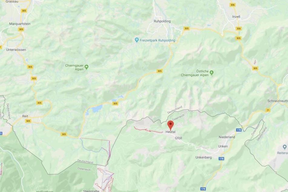 In den Cheimgauer Alpen ist es zu einem tödlichen Bergunfall gekommen.