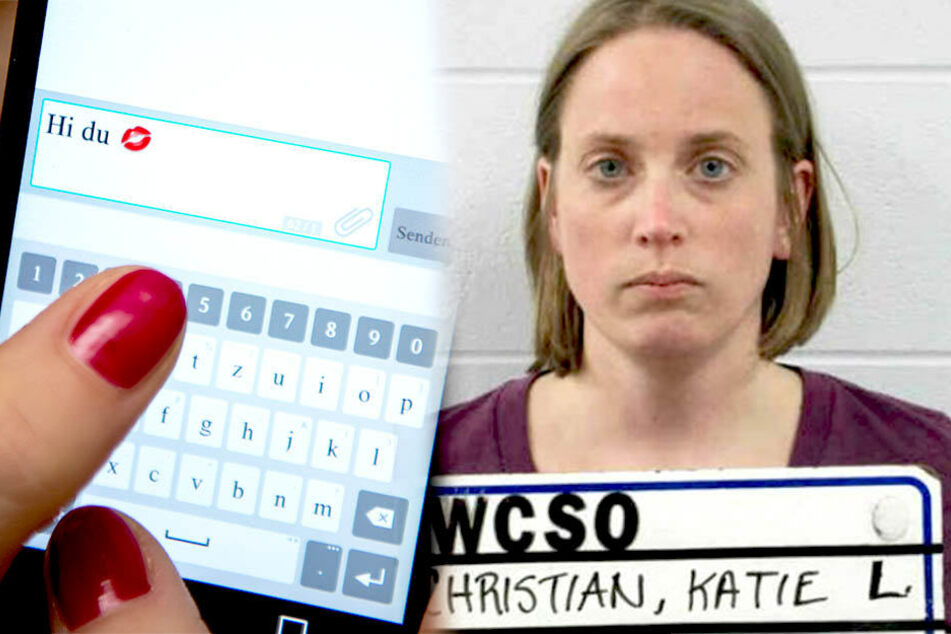 Katie Christian (44) schickte zahlreiche Text-Messages an einen Mann.
