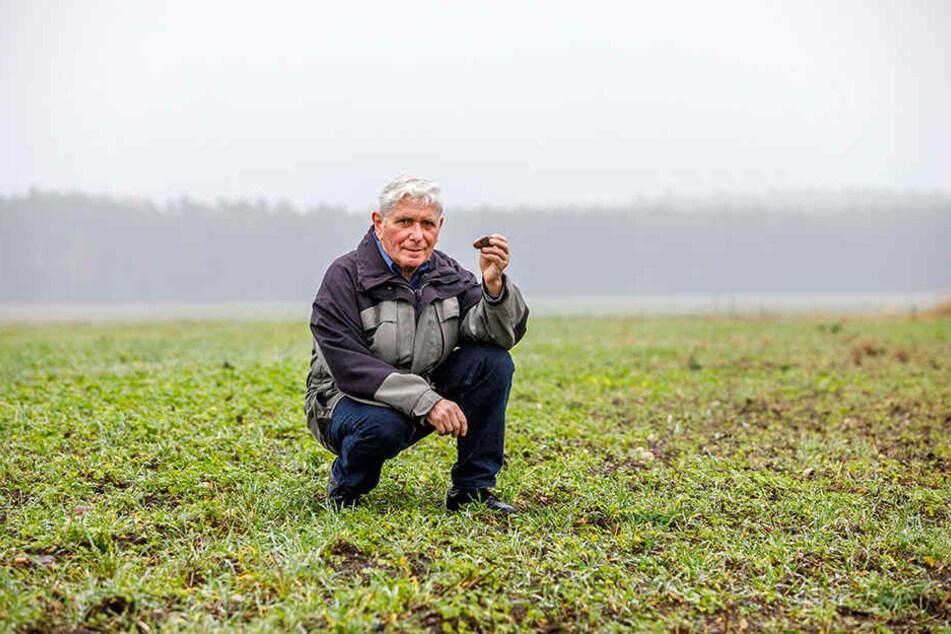 Manfred Kegel ist ehrenamtlicher Bodendenkmalpfleger. Er schützt das, was man nicht sieht.