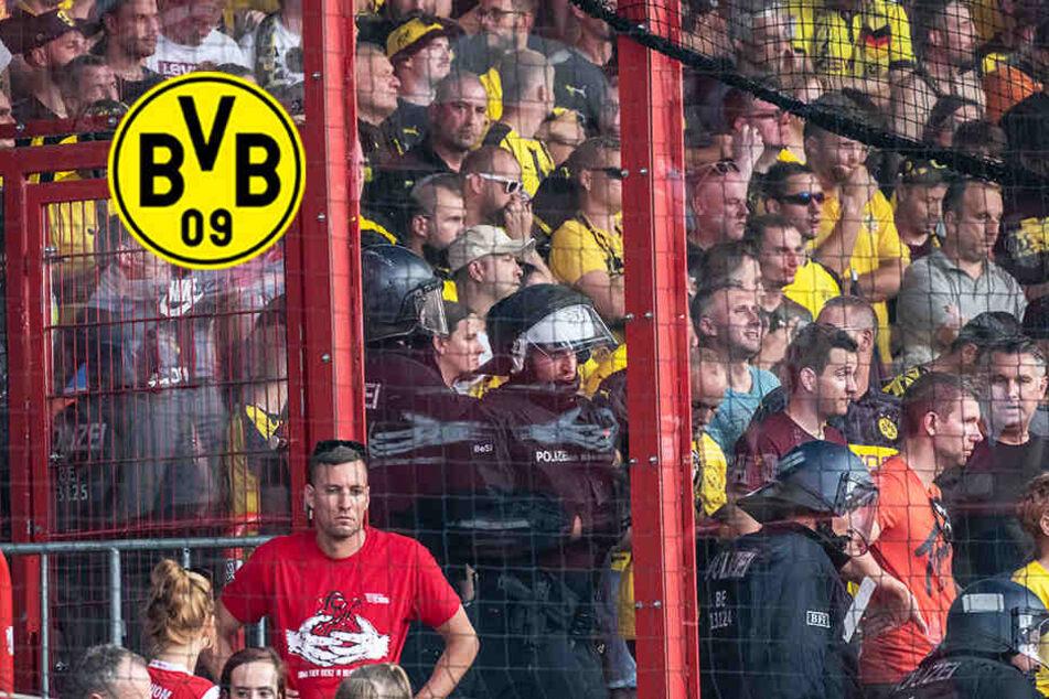 """Nach Panik im BVB-Block: Dortmund fordert """"kritische Analyse"""" der Berliner Polizei!"""