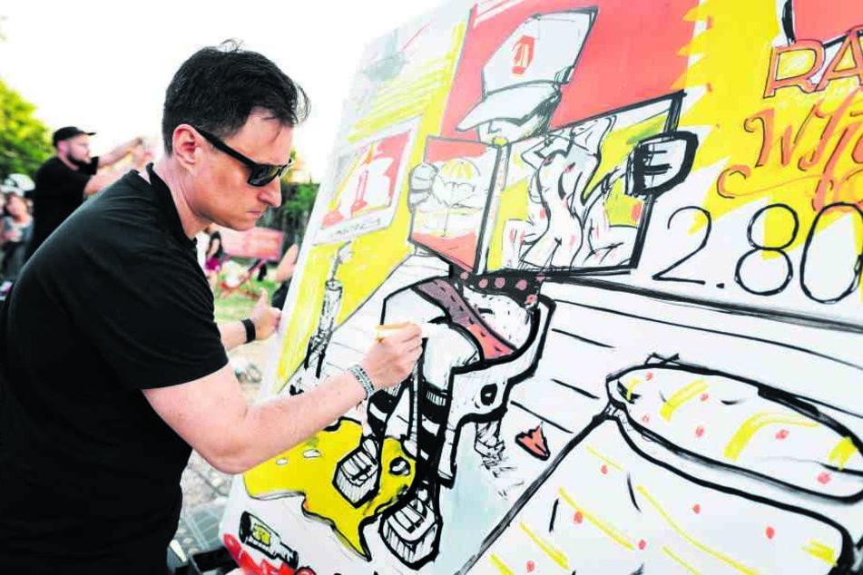 Ein Höhepunkt der Industriekulturtage wird das RAW-Festival mit Urban-Art-Künstlern sein.