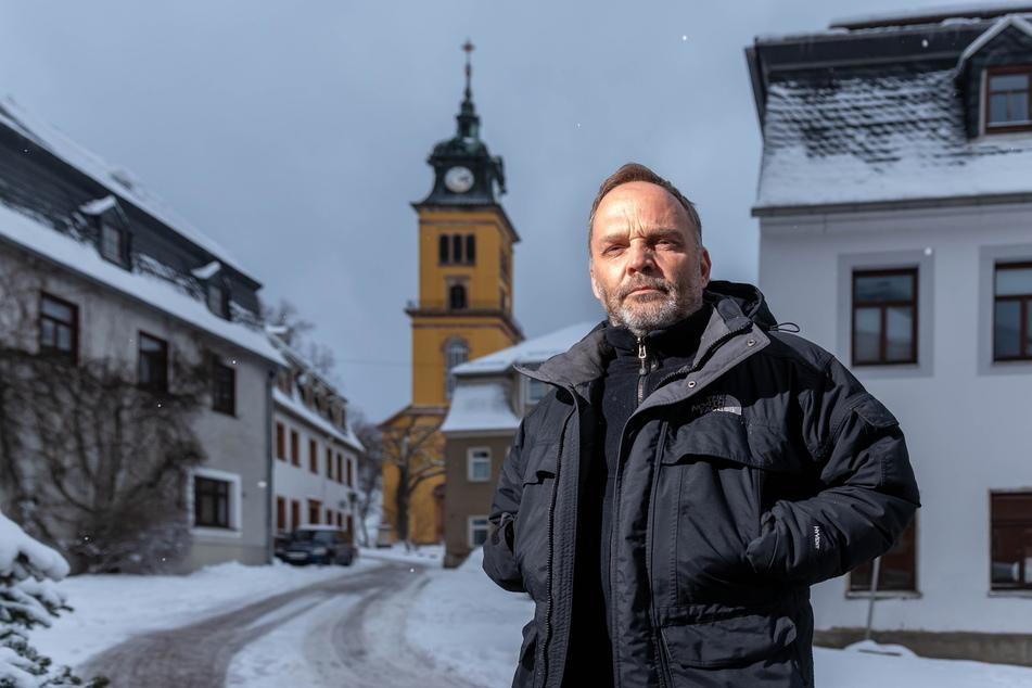 """Fordert einen """"harten Lockdown mit Horizont"""": der Augustusburger Bürgermeister Dirk Neubauer (49)."""