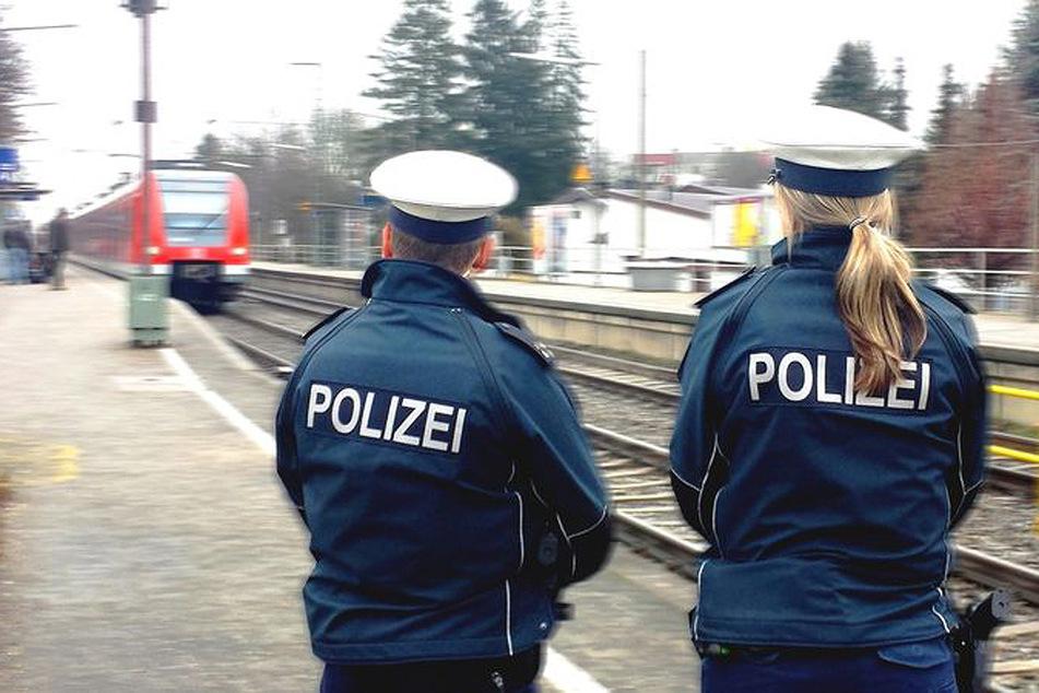 Laut Bundespolizei erlitt die Frau mehrere Schürfwunden an Armen, Händen und Knien. (Symbolbild)