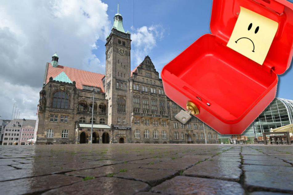 Verwaltung spart bei Möbel und Dienstreisen: So kämpft Chemnitz gegen eine Haushaltssperre