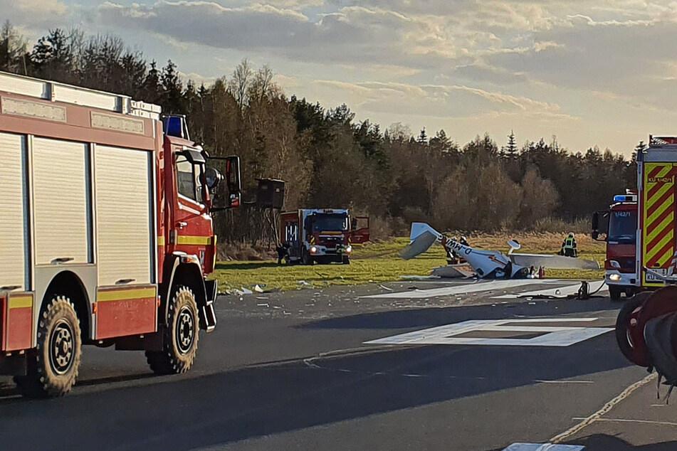 Sportflugzeug abgestürzt: Beide Insassen gestorben