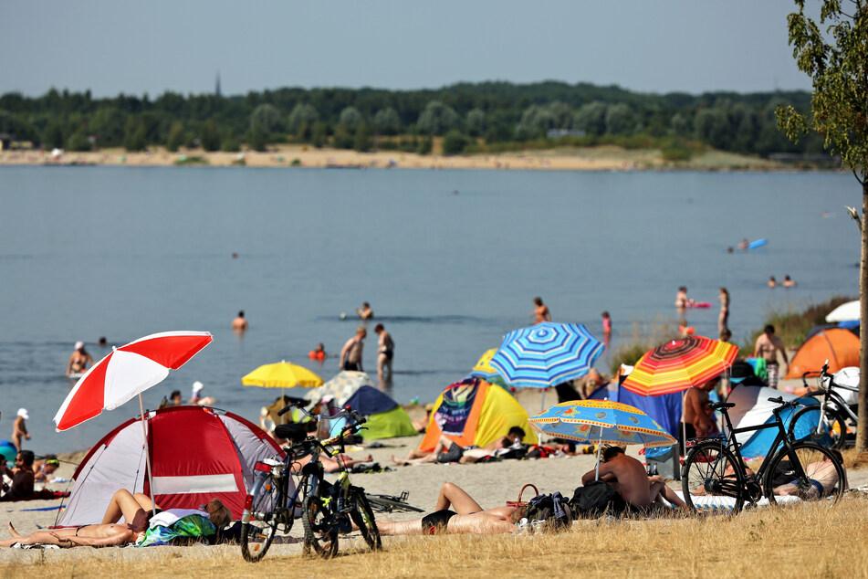 'Ne Abkühlung gefällig? Dann ab zum Cospudener See bei Leipzig!