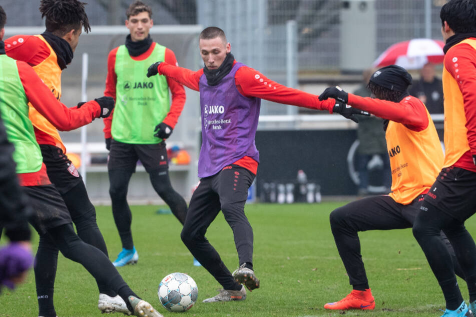 Das Mannschaftstraining beim VfB Stuttgart fällt weiterhin wegen der Corona-Krise aus.