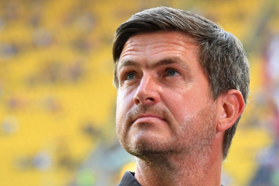 Dynamos Sportgeschäftsführer Ralf Becker.