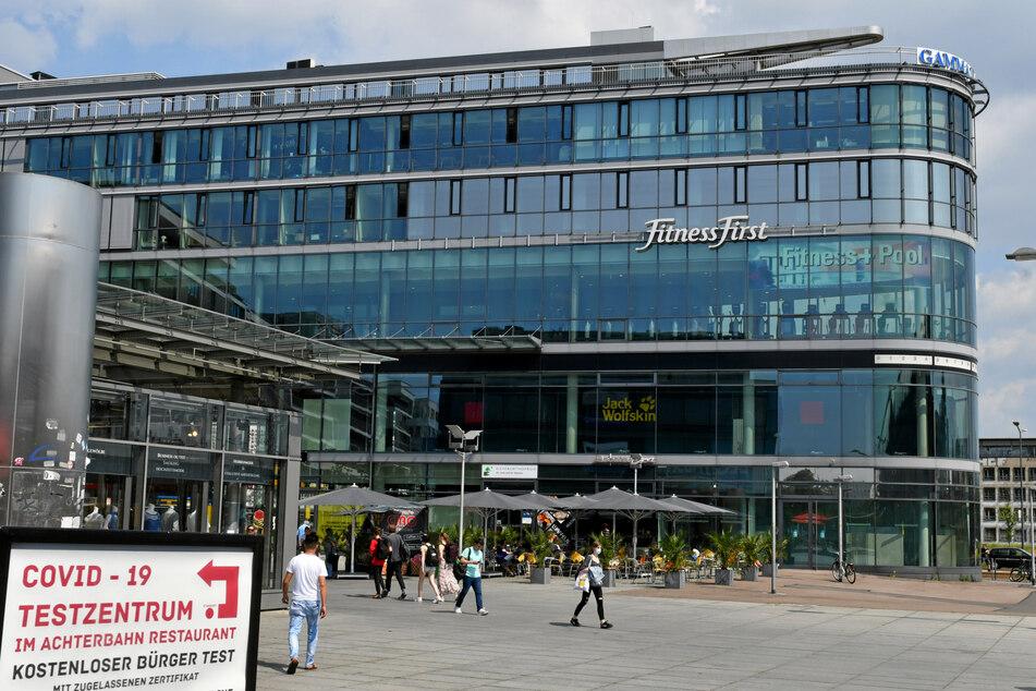 Leerstand auch in der Prager Spitze am Hauptbahnhof.