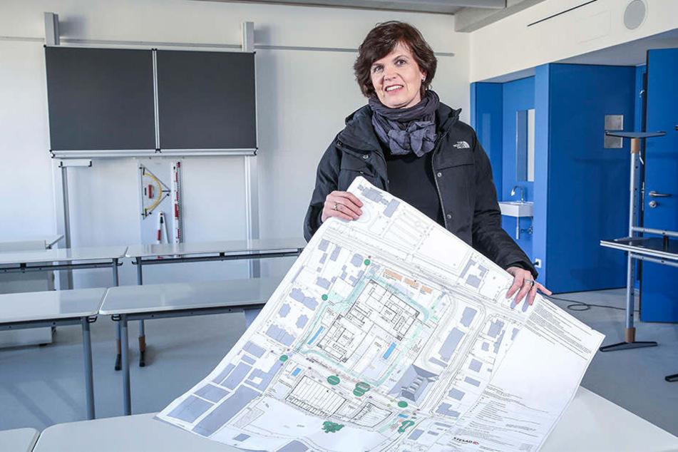 Hat einen Plan: Barbara Dittmer (52) von der Stesad ist die Projektleiterin.