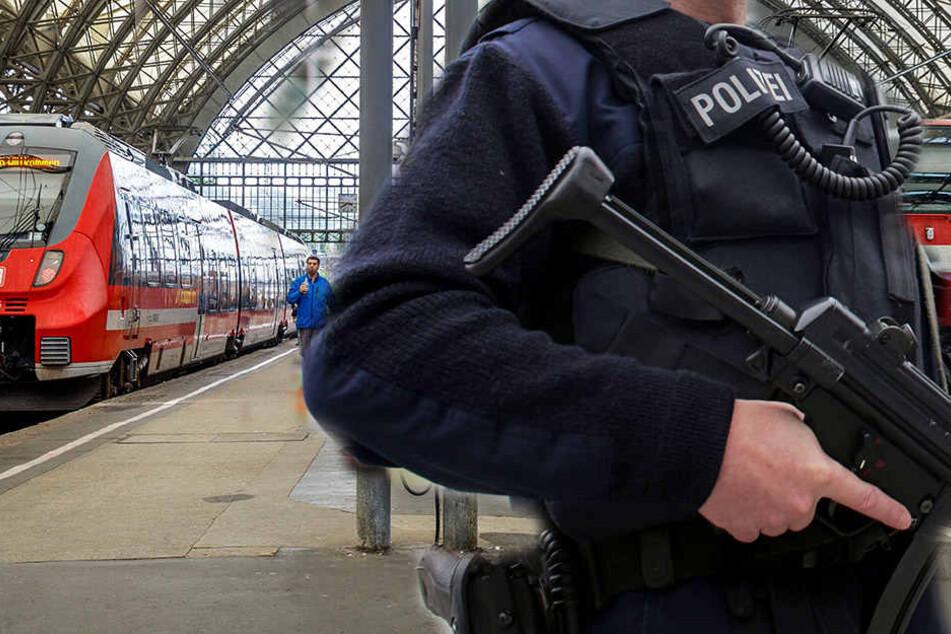 Am Dresdner Hauptbahnhof wurde am Donnerstagnachmittag Alarm ausgelöst (Symbolbild).
