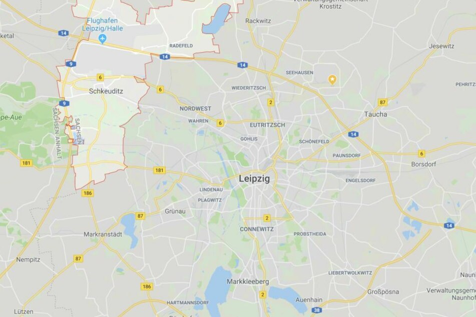 Der Arbeitsunfall ereignete sich in Schkeuditz bei Leipzig.