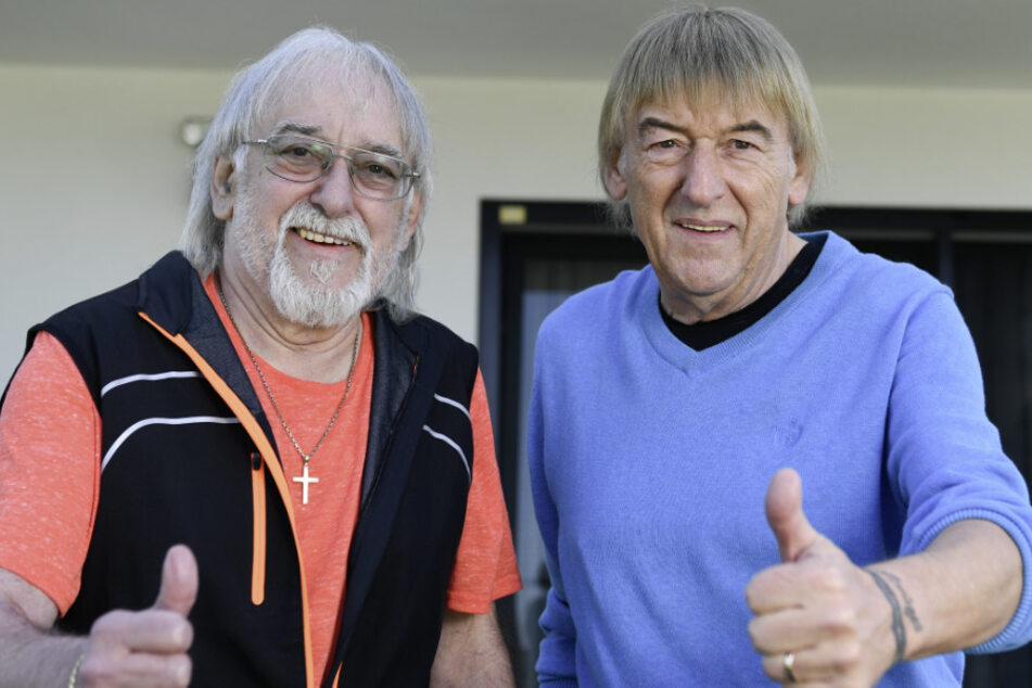 Die Brüder Bernd (69, r) und Karl-Heinz Ulrich (71). (Archivbild)