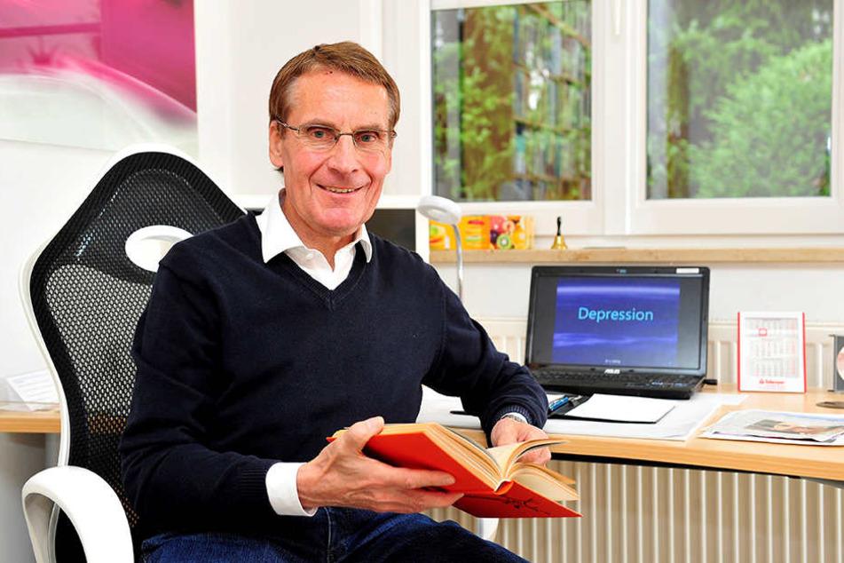 """""""Sport, Lachen und Sex"""" empfiehlt Dr. Ullrich Döhling gegen Depressionen."""